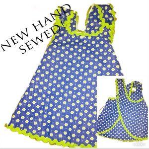 ‼️🔥NEW HAND SEWED BABY WRAP AROUND DRESS!🔥‼️